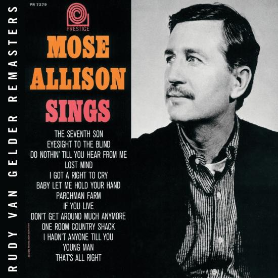 Cover Mose Allison Sings