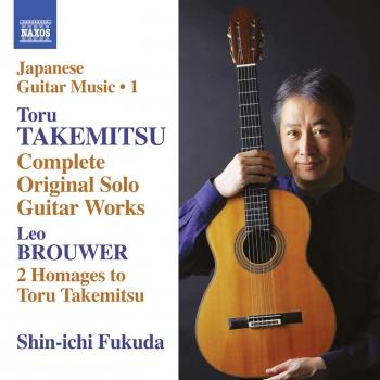 Cover Takemitsu: Complete Original Solo Guitar Works