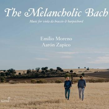 Cover The Melancholic Bach: Music for Viola da braccio and Harpsichord