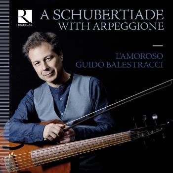 Cover A Schubertiade with Arpeggione
