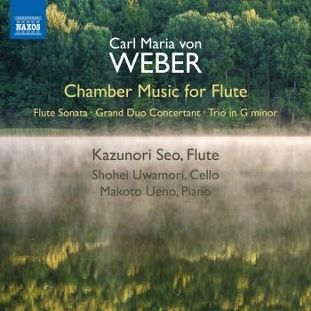 Cover Weber: Chamber Music for Flute