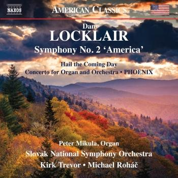 Cover Dan Locklair: Orchestral Works