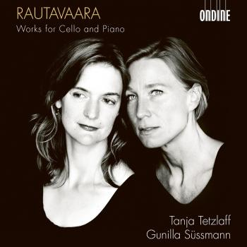 Cover Rautavaara: Works for Cello & Piano