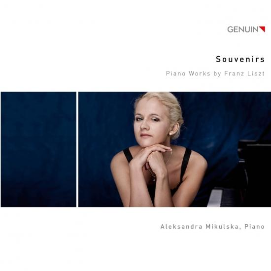 Cover Souvenirs (Piano Works by Franz Liszt)