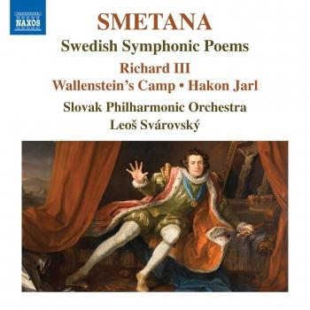 Cover Smetana: Swedish Symphonic Poems