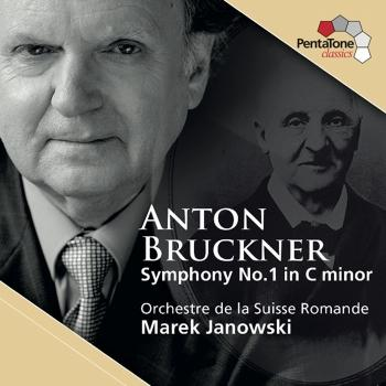 Cover Bruckner: Symphony No. 1 in C minor (Linz Version 1866) Nowak Edition