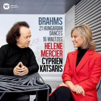 Cover Brahms: 21 Hungarian Dances & 16 Waltzes for Piano Four Hands