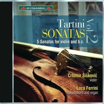 Cover Tartini: Violin Sonatas, Vol. 2
