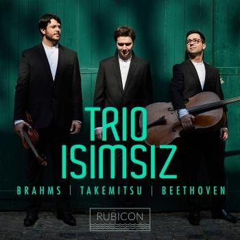 Cover Brahms, Takemitsu & Beethoven