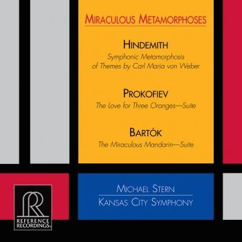Cover Miraculous Metamorphoses - Works by Hindemith, Prokofiev, Bartók
