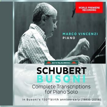 Cover Schubert-Busoni: Complete Transcriptions for Piano Solo