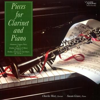 Cover Schumann & Brahms: Pieces for Clarinet & Piano
